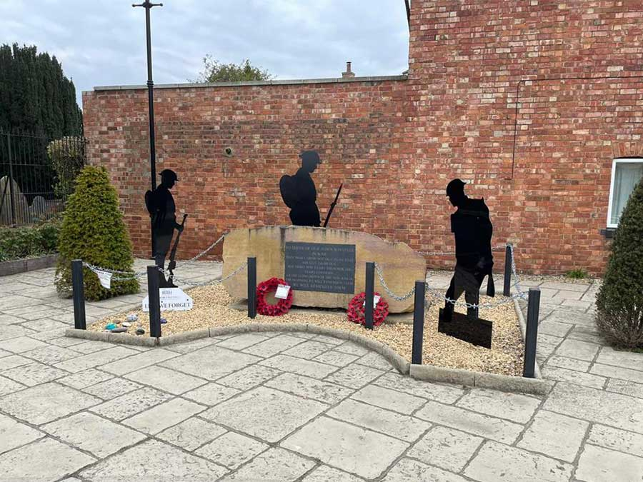 Thrapston War Memorial 2021